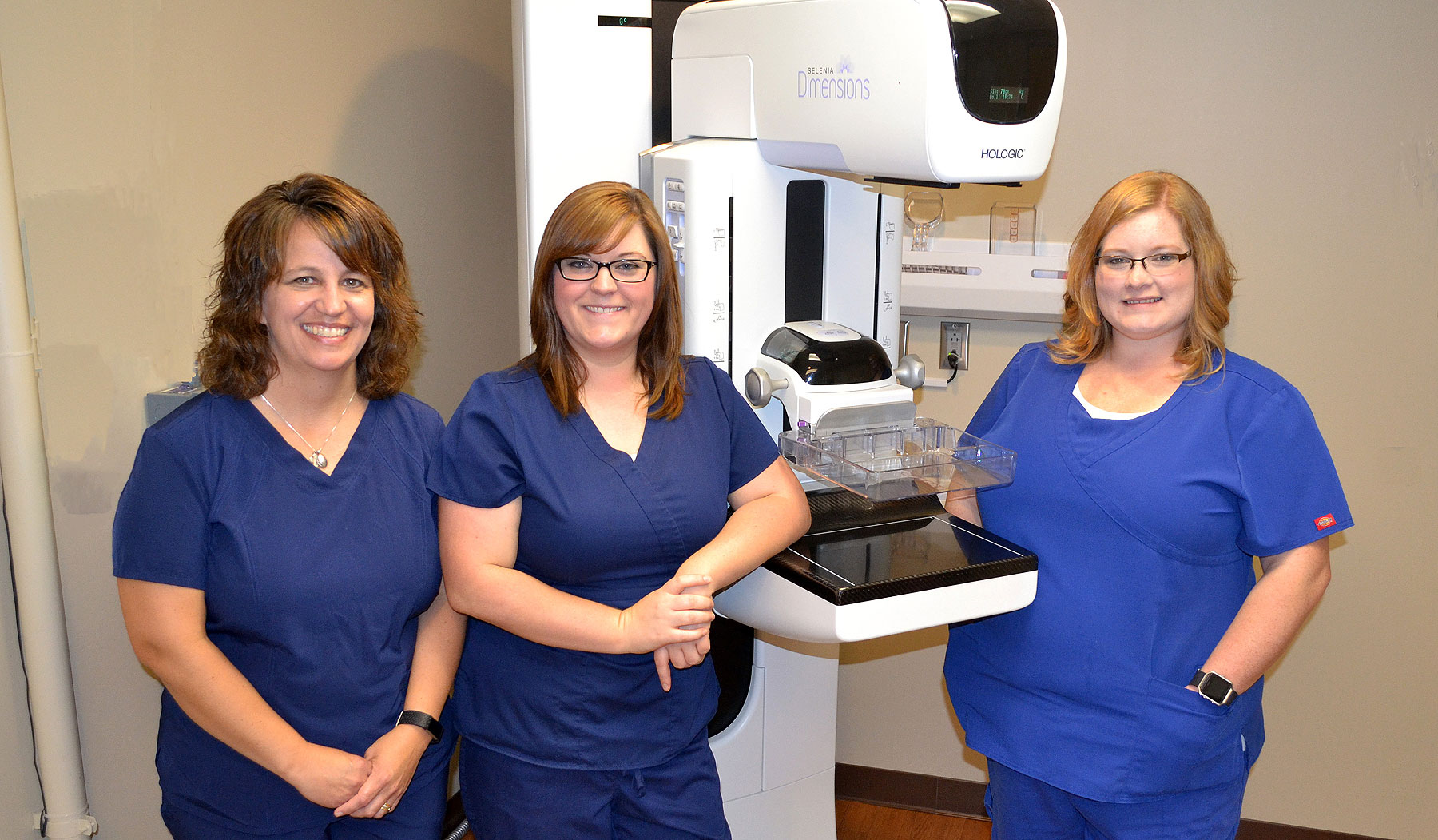 Mammography Staff at HCCH